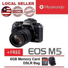 Canon EOS M5 With 18-150mm Lens + 8GB + Bag