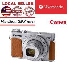 Canon G9X Mark II Digital Camera + 16GB Silver