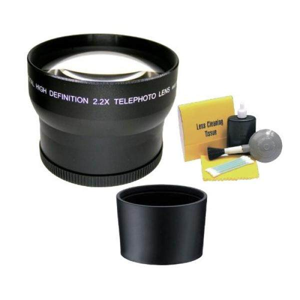 Canon PowerShot SX410 Adalah 2.195x Kelas Tinggi Super Lensa Telefoto (Termasuk Adaptor Lensa Cincin) + NW Langsung 5 Piece Peralatan Pembersih-Internasional