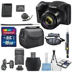 Canon PowerShot SX420 IS with 42x Optical Zoom and Built-In Wi-Fi Digital Camera & 16GB SDHC + Mini Tripod +AC/DC Turbo Travel Charger + Cleaning pen + Along with a Deluxe Bundle