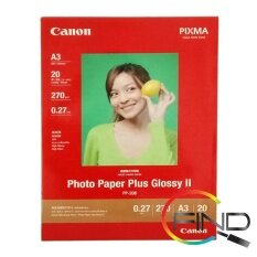 CANON PP-208 A3 (20 sheets) PHOTO PAPER PLUS GLOSSY II Malaysia