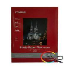 CANON SG-201 A3 (20 sheets) PHOTO PAPER PLUS SEMI-GLOSS (260g/m2) Malaysia