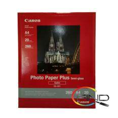 CANON SG-201 A4 (20 sheets) PHOTO PAPER PLUS SEMI-GLOSS (260g/m2) Malaysia