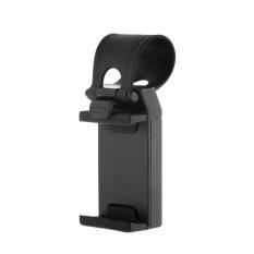 Dudukan Klip To Kemudi untuk Sepeda atau untuk Review Mobil untuk IPhone Ponsel Samsung GPS (hitam)
