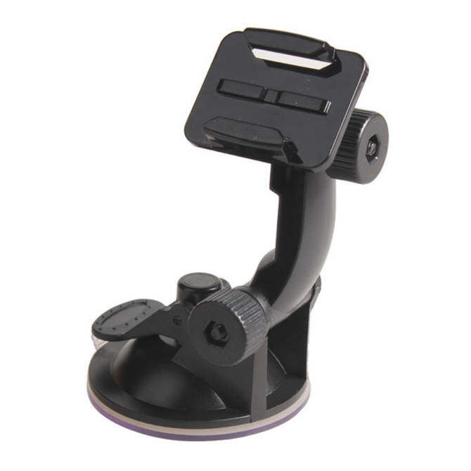 Hình ảnh JXFSMYCar Windshield Suction Cup Mount Holder for Go pro HD Hero Sport Camera (Black)