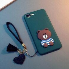Cartoon Bear Japan and South Korea Fashion Mobile Phone Protection Shell Hang Rope