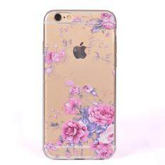 Case For iPhone SE 5SE 5 5S Premium Durable Soft TPU Cover (Pink Rose)