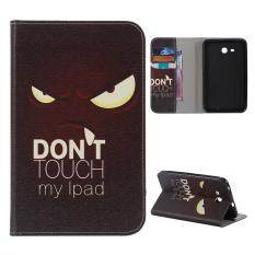 Case for Samsung Galaxy Tab 3 Lite 7.0 T110 Leather PU Wallet Case Flip Stand Cover