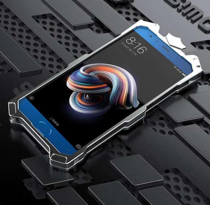 Cases For Xiaomi Note 3 Original Simon Design Metal Aluminum Anti-knock Armor Thor Series