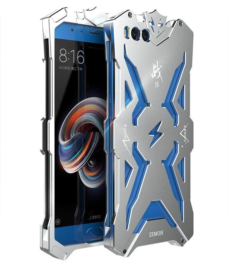 Sarung Xiaomi Note 3 Simon Asli Desain Logam Aluminium Anti-Knock Armor Thor Series Pelindung