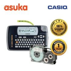 Casio Label It KL-120 18mm 2-Line Compact Label Printer+ CASIO Tape (