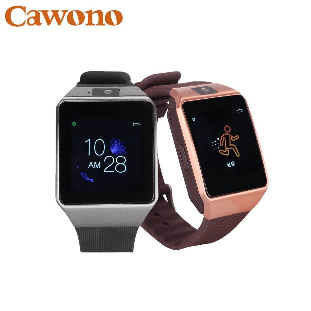 Cawono G12 Bluetooth Smart Watch with Camera Smartwatch Relogio Watch TF SIM Card for iPhone Samsung Huawei Android VS DZ09 GT08 - intl