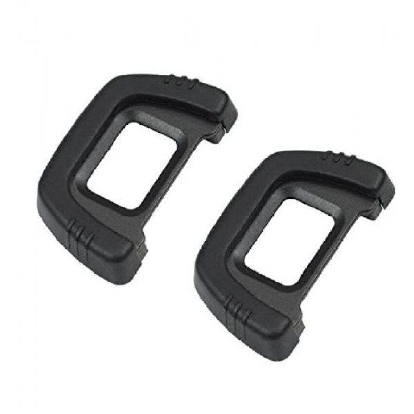 Ceari [2 Pack] Dk-23 Karet Eyecup Lensa Mata Viewfinder untuk Nikon D7100 D7200 D300 D300s DS Kamera + Serat Mikro kain Bersih-Internasional