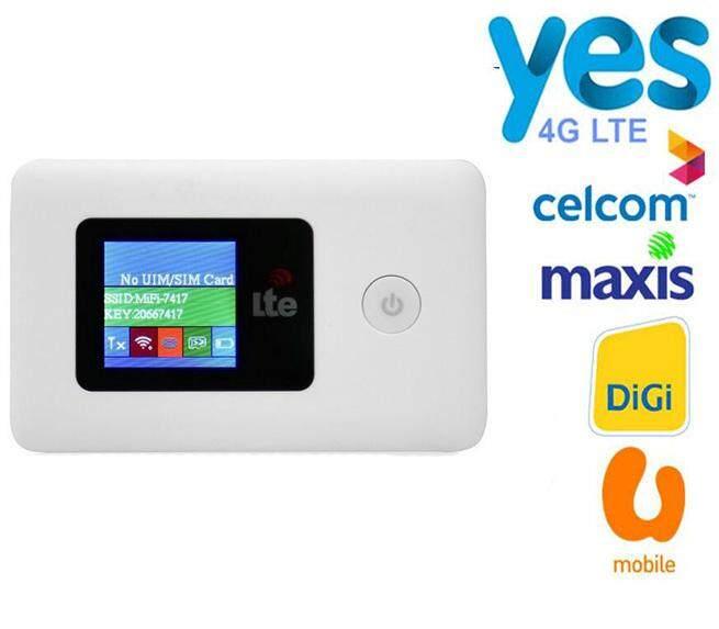 Celcom 4G WIFI Router Mifi 4G LTE Unlock Wireless Broadband Mobile Modem  for Maxis,Digi