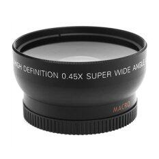 CHEER 52mm 0.45 X Wide Angle Macro Lens For Nikon D3200 D3100 D5200 D5100