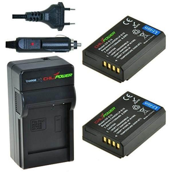 Chilipower CP-E10 Kit; 2x Akku (1150 MAh) + Ladeger? T F? R Canon EOS 1100D, EOS Rebel T3, EOS Kiss X50-Intl