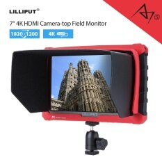 Lilliput A7S 7 Inch 1920x1200 IPS On Camera Field Monitor Supports 4K HDMI Input Loop Output Camera-top Screen For DSLR Mirrorless Camera