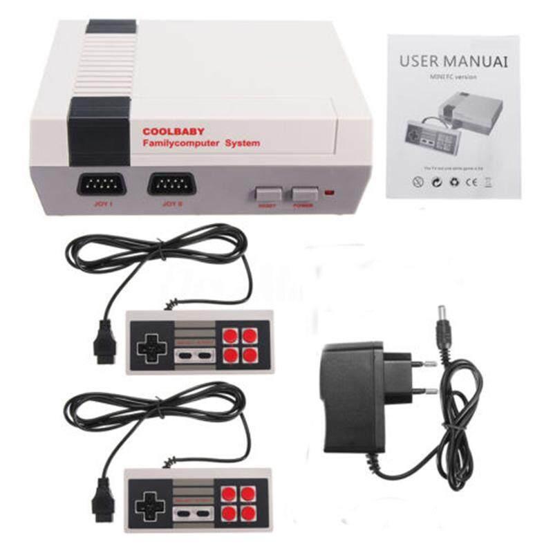 Klasik Mini Keluarga Konsol Game Built-In 500 Video Game TV dengan Dual Controller (SD AV Socket) Peraturan Eropa-Intl