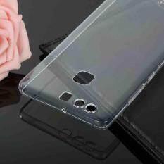 Jelas Super Tipis TPU Case Silikon Lembut Penutup Belakang Kulit untuk Huawei P9