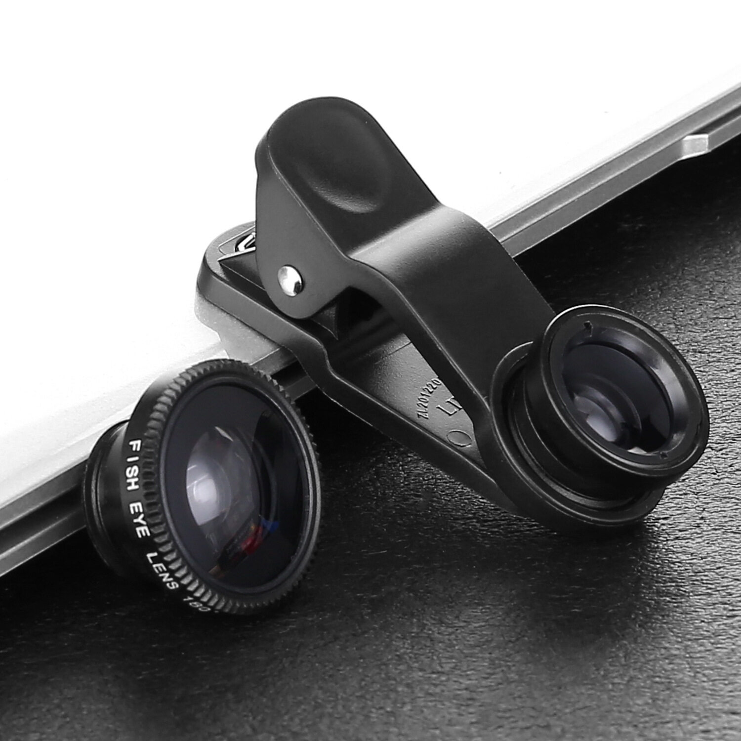 Clip-On 3-IN-1 LIE QI Phone Camera Lenses - intl