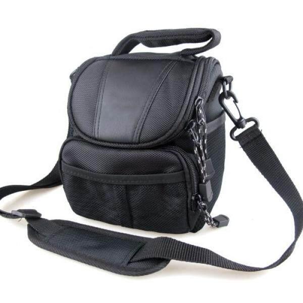 co2Crea(TM) Black Soft Nylon Digital Camera Case Bag Cover Pouch for Nikon Coolpix 1 J5 J4 V3 P900 P610 P600 P520 L830 L320 L810 L820 L830 L840 P530 S1 J3 V2 V1 J1 with Nikkor Lens Kit - intl