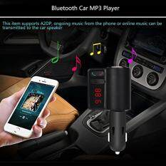 Cocol Max Wireless Bluetooth LCD MP3 Pemain Kit Pengisi Daya Mobil 2 USB Pemancar FM Modulasi