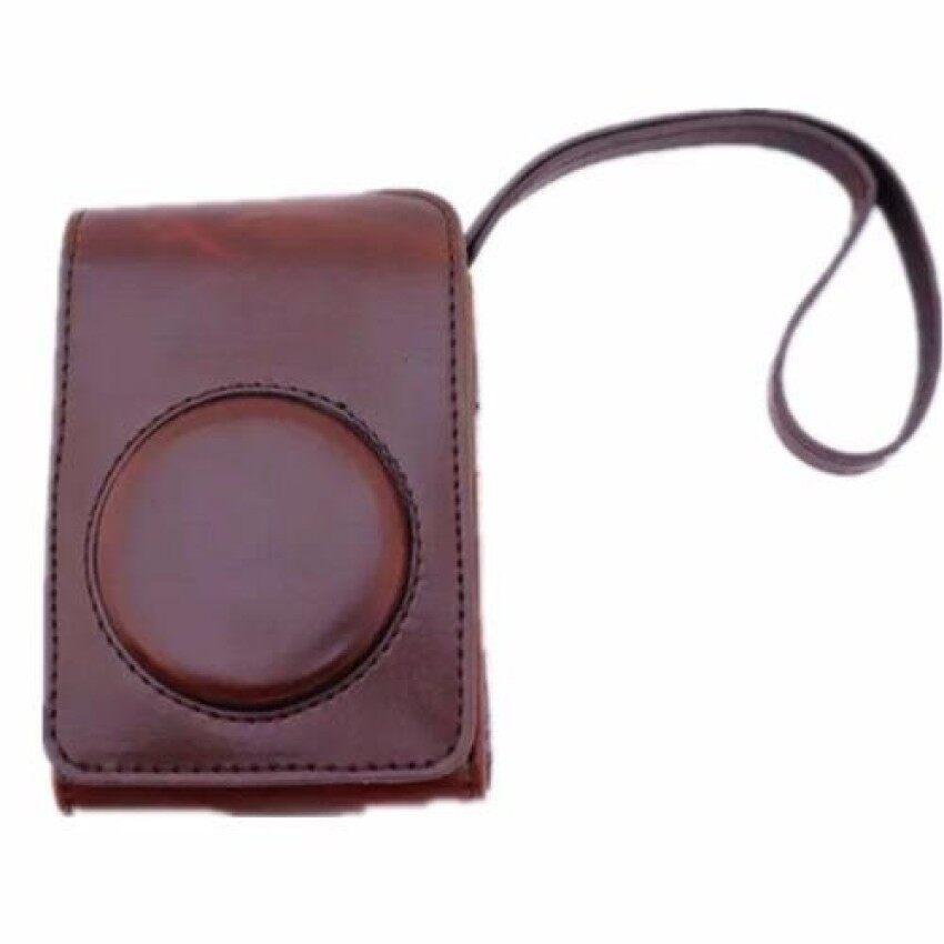 Coffee Camera PU Leather Case Cover Bag for Fuji XQ2 (Intl) SHENG HOTT 891 - intl