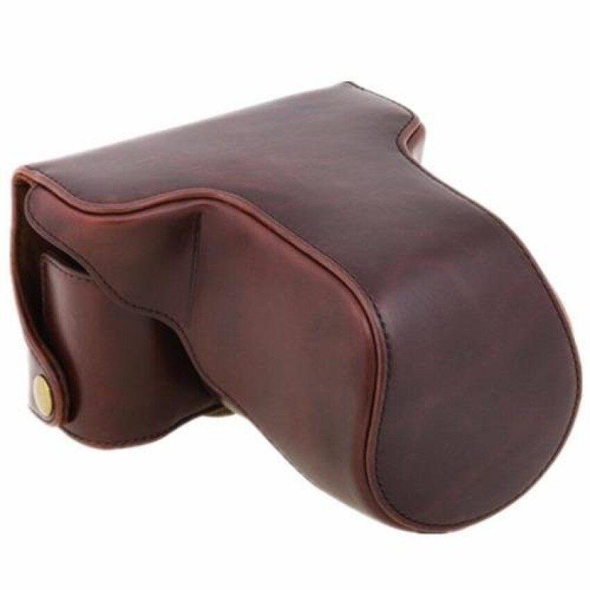 Kopi PU Tas Tas Kamera Kulit dengan Tali Bahu untuk Fuji XM1XA1 XA2 (Internasional) sheng HOTT 589-Internasional