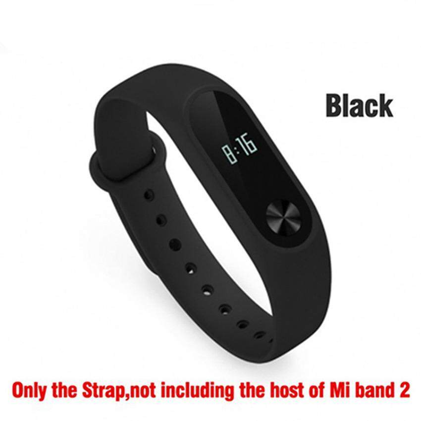 ซื้อ personalized and Colorful Silicone Wristband Strap for Xiaomi Mi Band 2 Bracelet Accessories Replaceable Band การส่งเสริม - มีเพียง ฿220.00