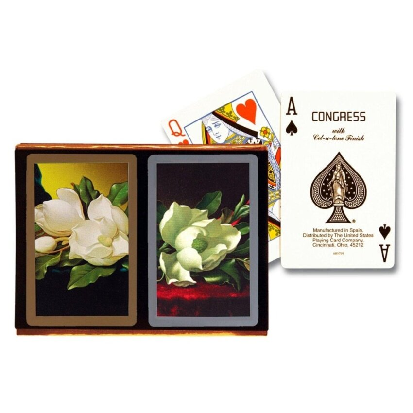 Congress Southern Charm Standard Index Playing Cards - intl