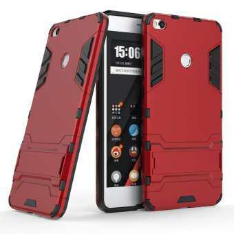 Cool Guard Plastic TPU Combo Cell Phone Case for Xiaomi Mi Max 2 - Red-