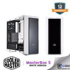 Cooler Master MasterBox 5 Chassis (White Version) [ATX, Matx, Mini-ITX] Malaysia