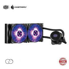 Cooler Master Masterliquid Ml240l Rgb 1.0 Cpu Liquid Cooler By Lelong Store.