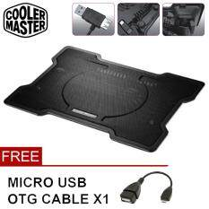 COOLER MASTER [NP52] NotePal X100 Silent 160mm Fan X-Slim Ultra-Slim Cooling Pad For 11 to 17 Laptop/Notebook Malaysia