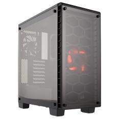 Corsair Crystal 460X Black Compact ATX Mid Tower PC Case (Tempered Glass) Malaysia