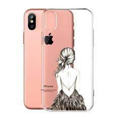 cover fr apple iphone x ijia transparente kleid cinderella tpu weich silikon stokasten hlle handyhlle - Handyhllen Muster
