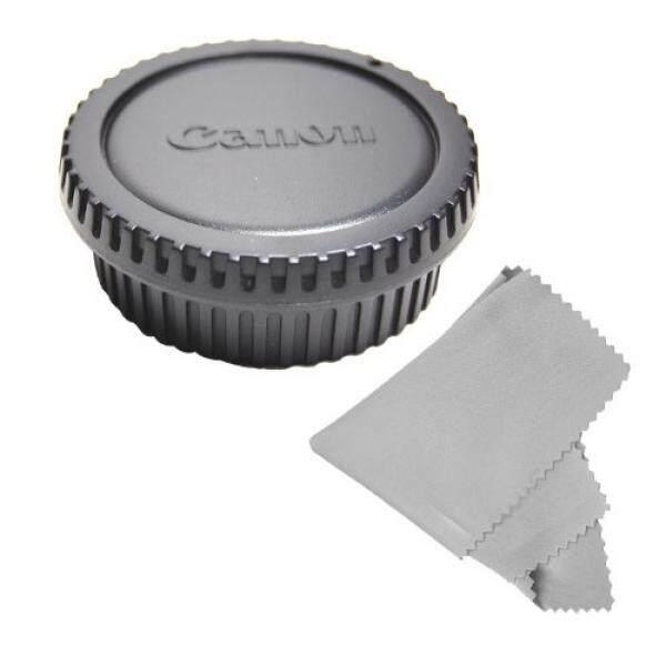CowboyStudio Rear Lens Cap and Camera Body Cover Cap for CANON Rebel (T3i T3 T2 T2i T1i XT XTi XSi XS), CANON EOS (1100D 600D 550D 500D 450D 400D 350D 300D 60D 7D) + Microfiber Cleaning Cloth - intl