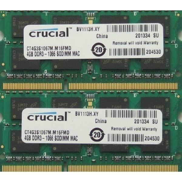 Penting Memori RAM Meng-upgrade 8 GB Kit (2X4 GB) DDR3 PC3 8500 1067 MHz 204 Pin SODIMM untuk 2009 dan 2010 Apple Mac Mini-Intl