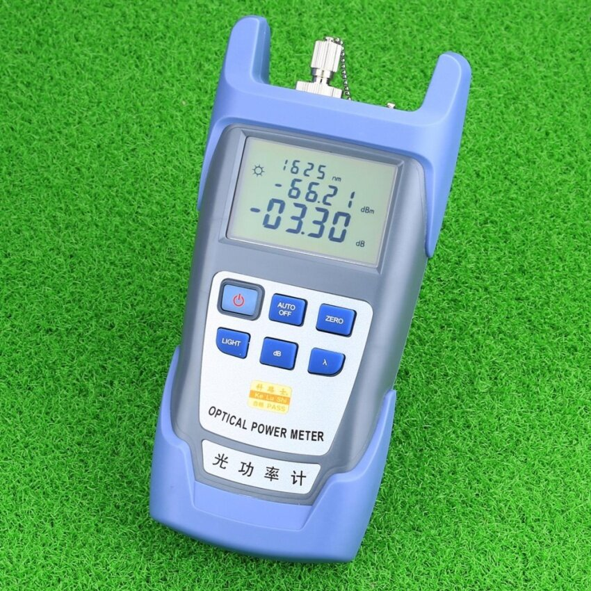 THB 926 CRUISER FTTH Fiber Optic Optical Power Meter Cable Tester NetworksFC SC .