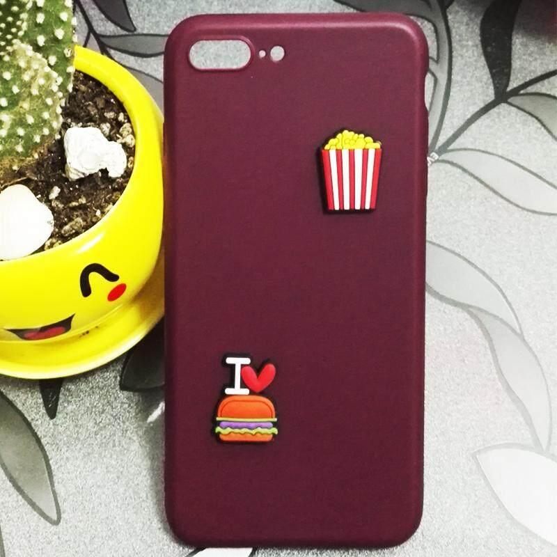 Rp 69.000. Lucu Hamburger & Pola Popcorn Kasus Silikon untuk Xiaomi MI 6 TPU Lembut ...