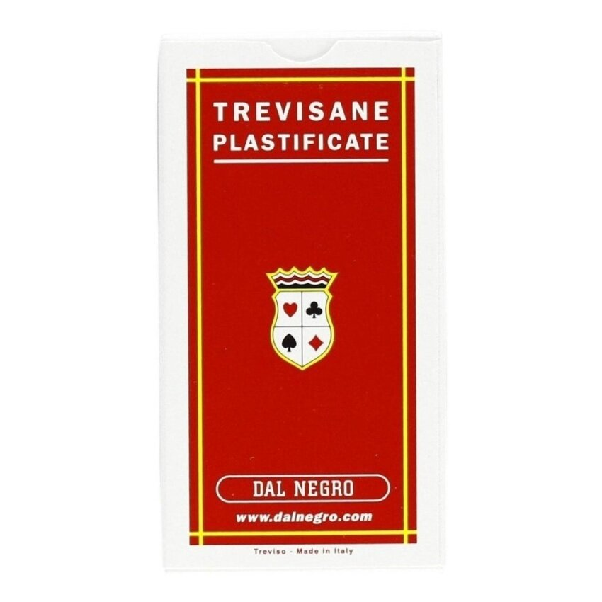 Dal Negro: Trevisane\x9D 10001 Plasticized Italian Playing Cards *Deck of 40 Cards * [ Italian Import ] - intl
