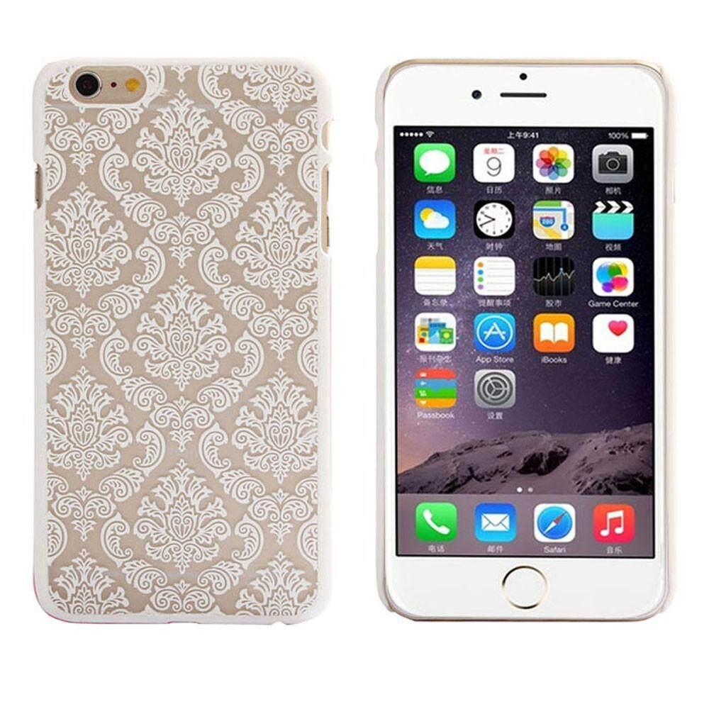 Damask Vintage Pola Matte Wadah PENUTUP UNTUK iPhone 6 S 4.7 Inch Bu-Intl