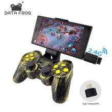 Data Frog Data Frog Wireless Controller 2.4 G Android Gamepad Joystick Micro USB For Android Smart Phone Joypad For PC For PS3 TV Box