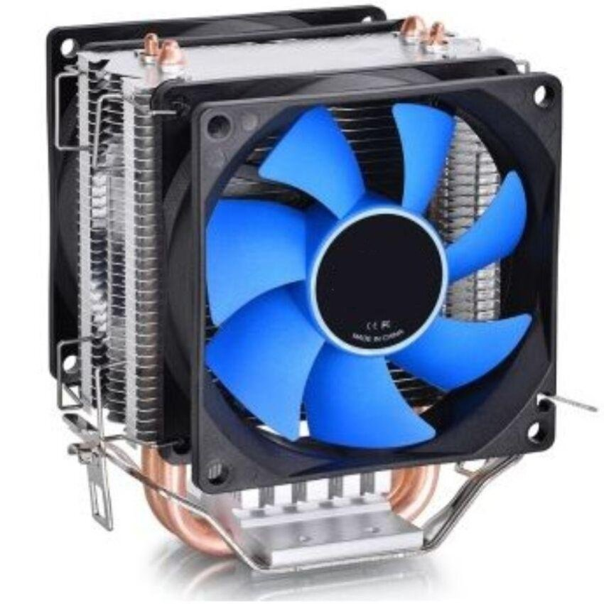 Deepcool Penggemar Ganda Heatpipes CPU Cooler Es Sisi MINI FS Dualblades Untuk AM2