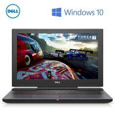 Dell Inspiron 15 7577-70814GTi-W10 Gaming Laptop (i7-7700HQ/8GB D4/1TB+128GB/NVD GTX1050TI 4GB/15.6FHD IPS/W10) Black Malaysia