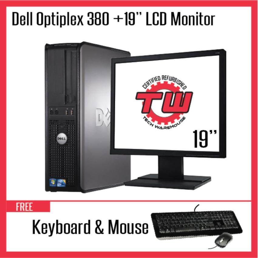 Klik untuk dapatkan Dell Optiplex 380 Core 2 Duo Desktop PC (Factory