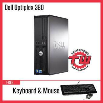 Dell Optiplex 380 Core 2 Duo Desktop PC (Factory Refurbished) + Windows 10 Pro