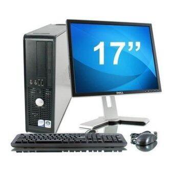 "Dell Optiplex 755 (SFF) Desktop PC (Factory Refurbished) + Windows 7 Professional (64-Bit) + 17"" LCD Monitor + 8GB DDR2 RAM"