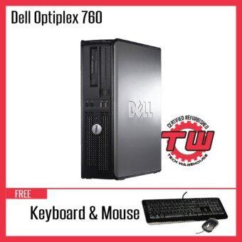 Dell Optiplex 760 (SFF) Desktop PC (Factory Refurbished) (3 months warranty)