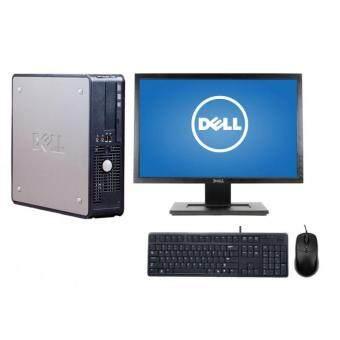 Dell Optiplex 780 (SFF) PC, 2GB, 160GB, + LCD 19 Monitor Wide Win 7